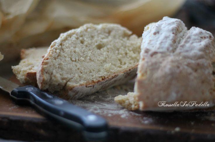 Soda bread. Il pane senza lievito velocissimo da preparare e molto buono. Ideale in qualsiasi momento della giornata, anche a colazione.