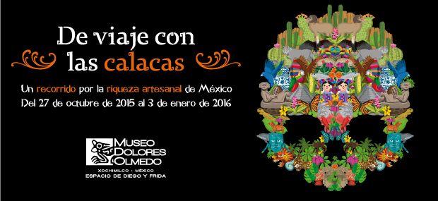 #DiaDeMuertos #Halloween #Museo Ofrenda en la ciudad de México