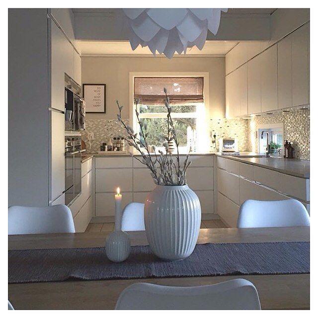   Kitchen view    Cred: @maritvpet #kvikkitchen #kvik #kitchen #danishdesign