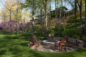 117 best images about backyard fire pits on pinterest for Landscaping rocks grand rapids