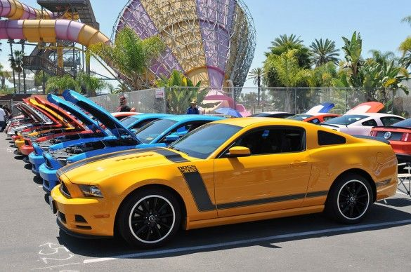 Fabulous Fords at Knotts 2013