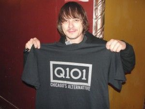 Korn drummer Ray Luzier before rockin' The Congress Theater 2/24/12.