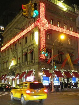 Ambiance de Noël à New York Cartier