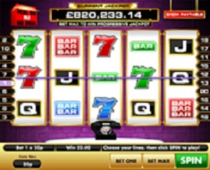 The Deal or No Deal super slot is a 5 reel 20 payline slot machine themed on the world's most exciting TV game shows Deal or No Deal.