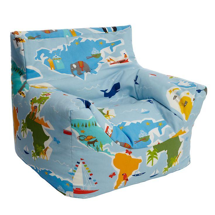 Buy Little Home At John Lewis Globetrotter Bean Bag Chair