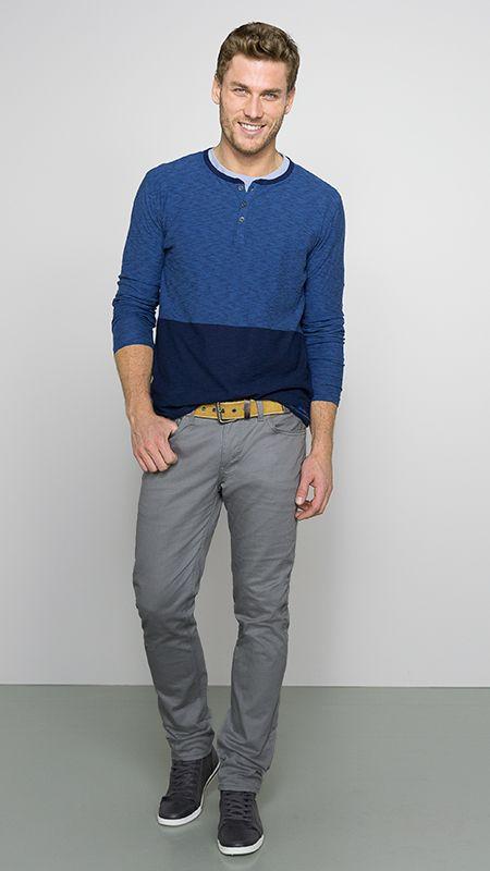 DENIZEN® Jeans 216™ Skinny in Gargoyle. Lean and infinitely modern!
