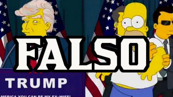 The Simpsons Trump President Full Episode 1