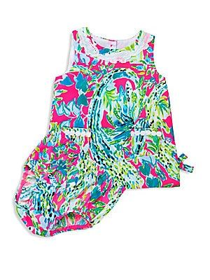 f6e9a83d0 Lilly Pulitzer Kids Baby Girl's Shift Dress & Bloomers Set   For ...