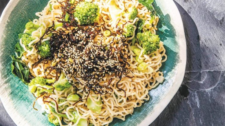 Karen Martini's broccoli ramen noodle salad