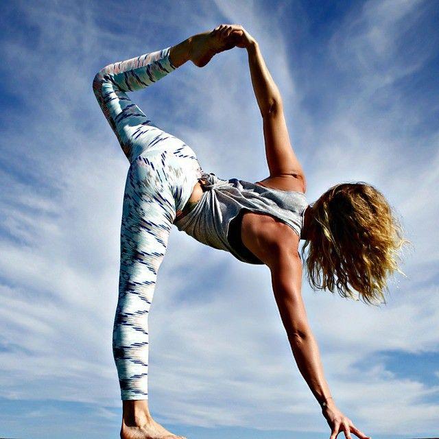 #Tie Dye Rain Legging #LiquidoActive # Yogilicious #yoga