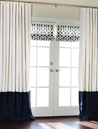 Window Treatment Solutions for French Doors