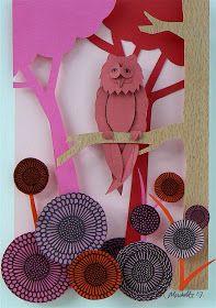 Lille Lykke: Papieren kunst voor thuis aan de muur