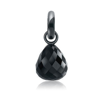 Sweet drops, sølv m. onyx, sweet drops fra Ole Lynggaard | Dirks Design