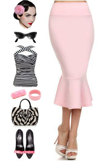 Pinup girl outfit