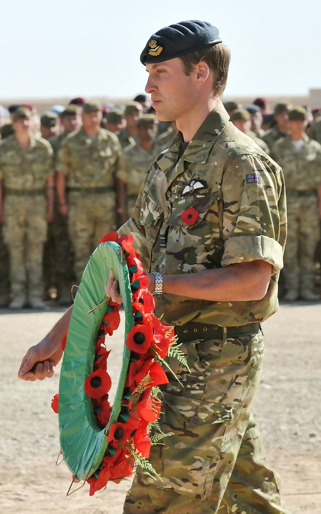 Prince William - Prince William Travels To Afghanistan To Commemorate Rememberance Sunday