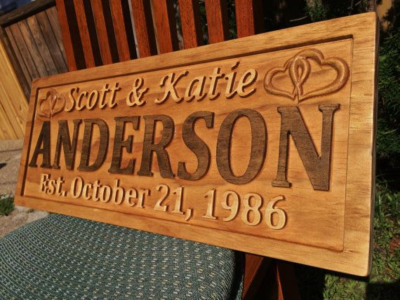 "This is a 23"" X 9.25"" custom wood sign. The sign is made using a two tone stain finish on 3/4"" Solid Pine that's finished with a sealer. Each sign includes a sawtooth hanger on the back for quick and easy hanging. Notice the 3D lettering and images that pop right out of the sign. This unique and beautifully crafted sign is truly one of a kind."