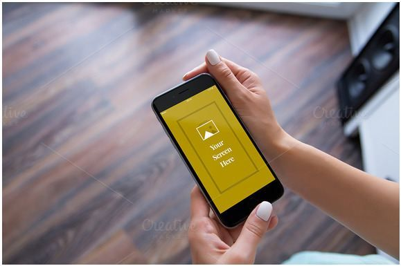 Wooden floor bacgground hand iphone mockup   http://textycafe.com/10-iphone-hand-mockup-with-holding-iphone-in-hands/  #iphone #graphicdesign #mockup #template #graphics #photoshop