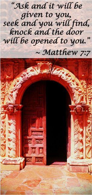 Matthew 7-7