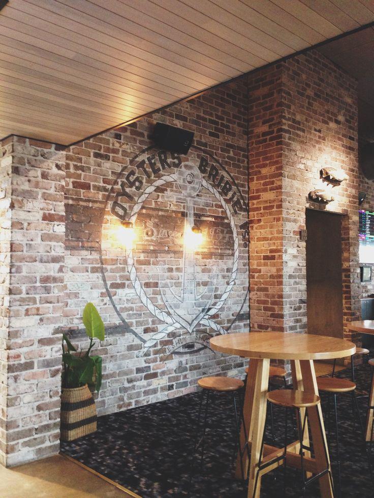 Beautiful Exposed Brick At The Sandstone Point Hotel Sunshine Coast QLD