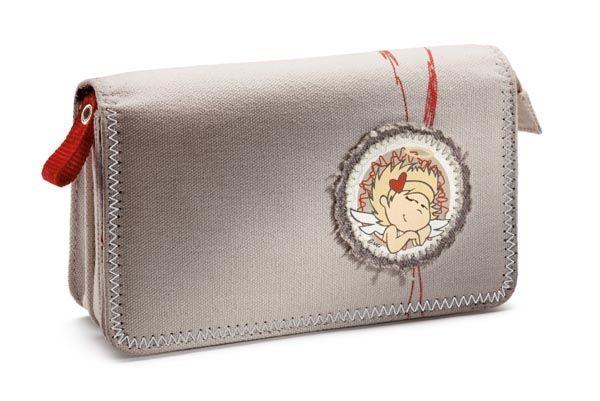 NICI Devil Angel Engel Kosmetiktasche Tasche Kosmetik Canvas Geschenk 28920 | eBay