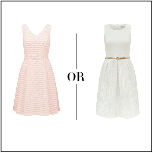Pink or white