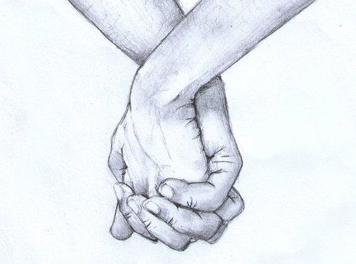 I wish I could draw hands as well as this is drawn.