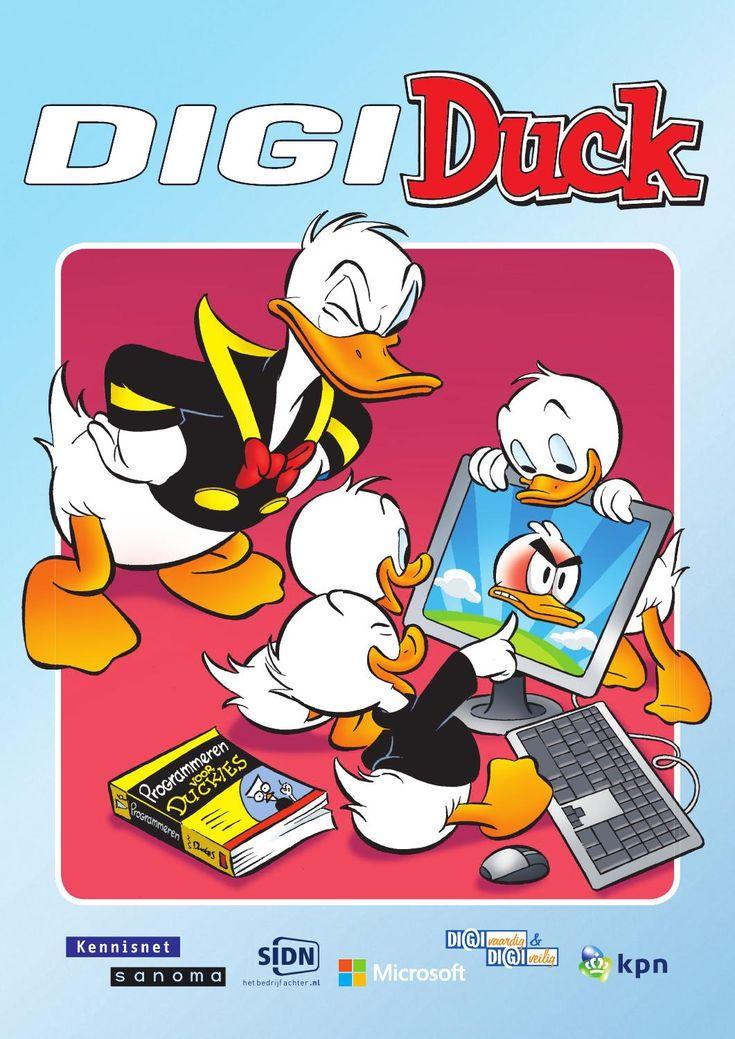 De DigiDuck is een bijlage bij Donald Duck Weekblad editie 19, 2014 en staat geheel in het teken van programmeren.