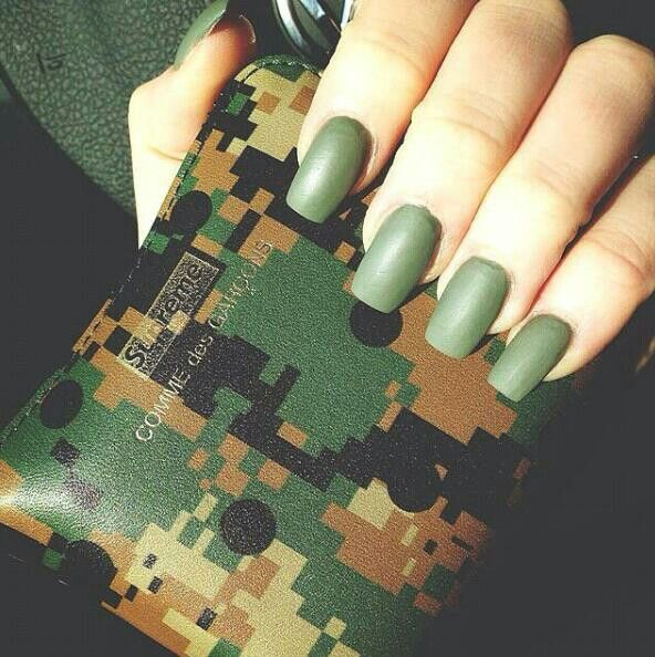 17 Best Images About Camouflage Nail Art On Pinterest