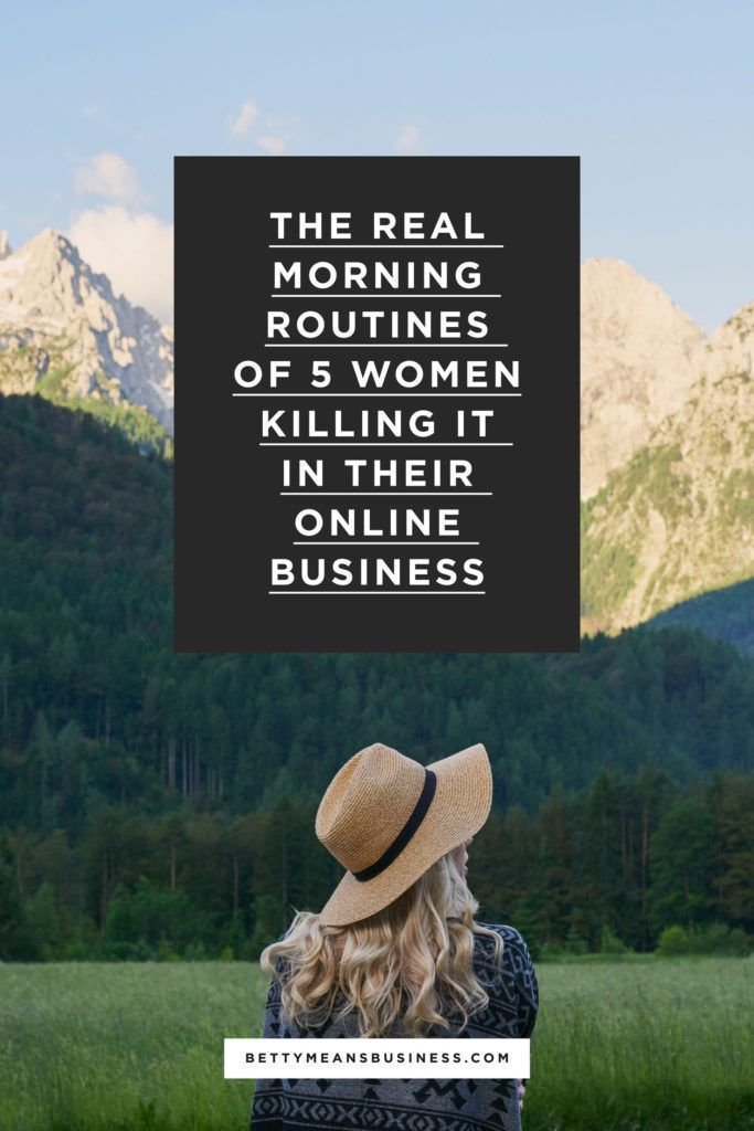 The REAL Morning Routines Of 5 Women Killing It In Their Online Business  fifteen media | PR Consulting Firm