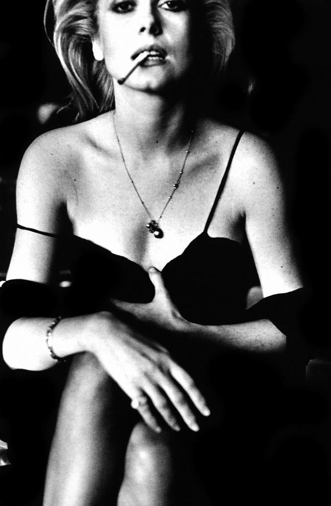 Helmut Newton - Catherine Deneuve