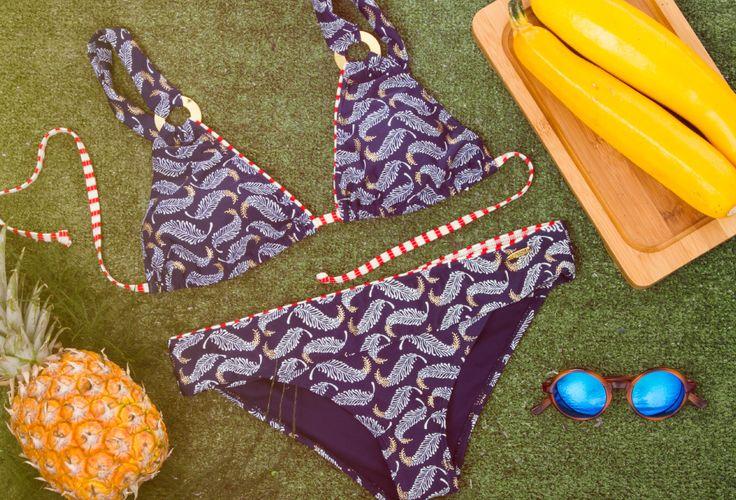 Playa, brisa y mar o piscina, alegría y diversión. No importa donde estés, que no falte un vestido de baño