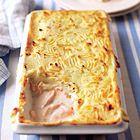 Zalm met tijm, rozemarijn en kerstomaatjes in de oven - recept - okoko recepten