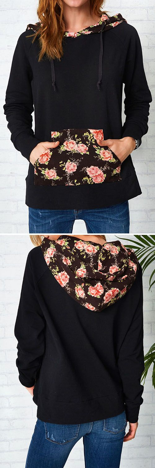 $25.99&free shipping! We love the romantic feel of this sweatshirt! High-quality with absolutely cozy feel! Get some flowers now. For more stylish items at Cupshe.com !