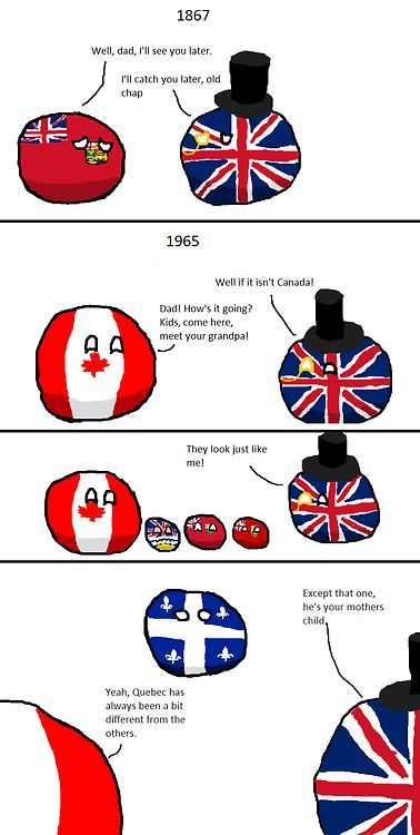 polandballcomics: The provinces of Canada Source: Source and comments A joke for Canadians.