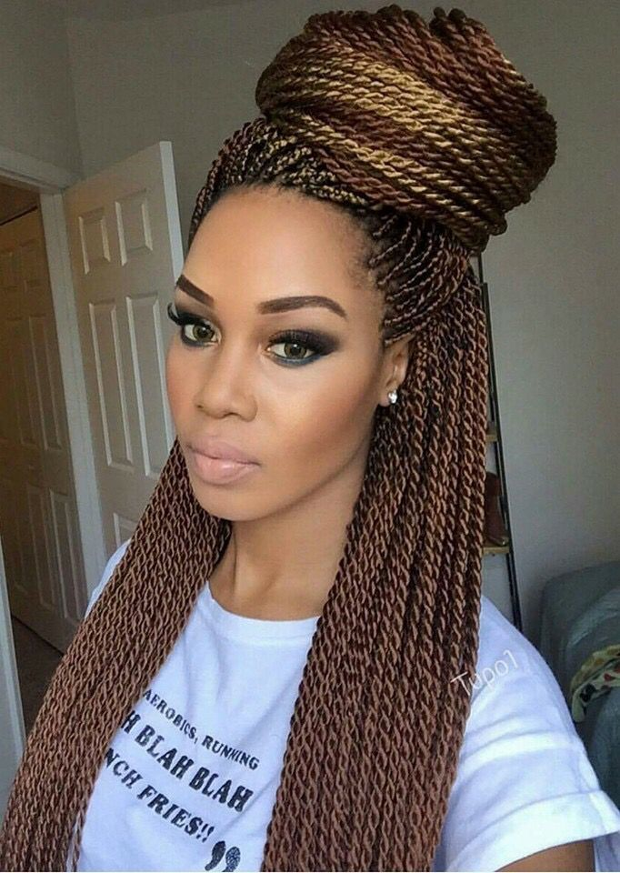 Pin by Felicia Williams on Braids and twist  Curly hair styles Braided hairstyles Hair styles