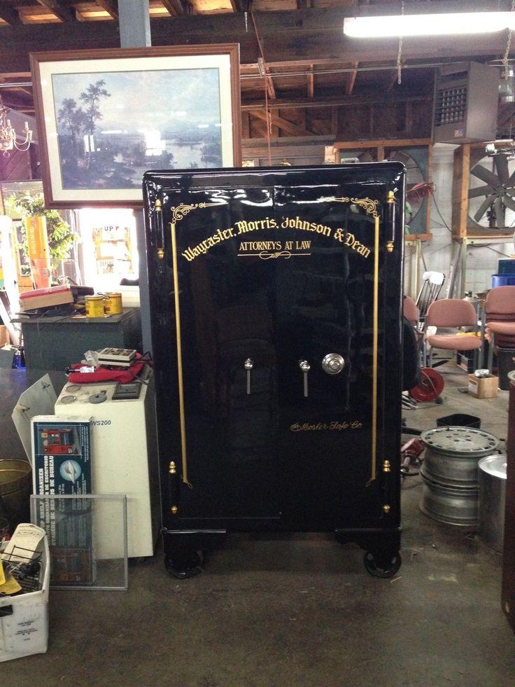 Mosler Antique Safe Vault Circa 1920's in Very Good Condition | eBay