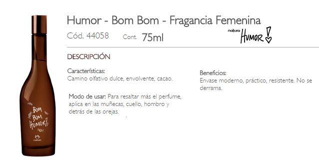 HUMOR - BOM BOM FEMENINO