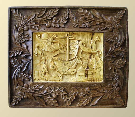 57 best Carved wall art images on Pinterest | Scores, Wood carvings ...