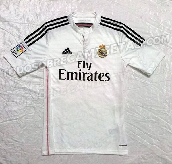 Playera de local Real Madrid 2014-2015.