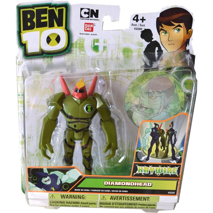 Ben 10 Ultimate Alien Action Figure - Diamondhead (Haywire), 39.9  #actionfigure #ben10 #ben10ultimatealien #diamondhead