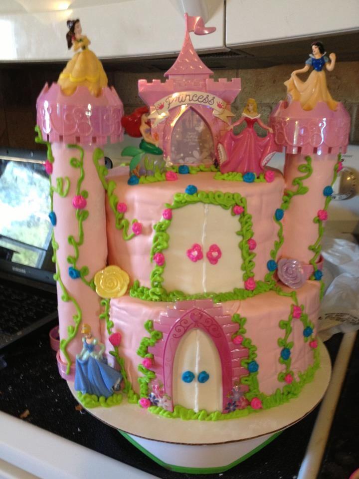 Princesss birthday cake
