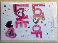 View item: VALENTINES DAY Card Embellished Talking Pictures
