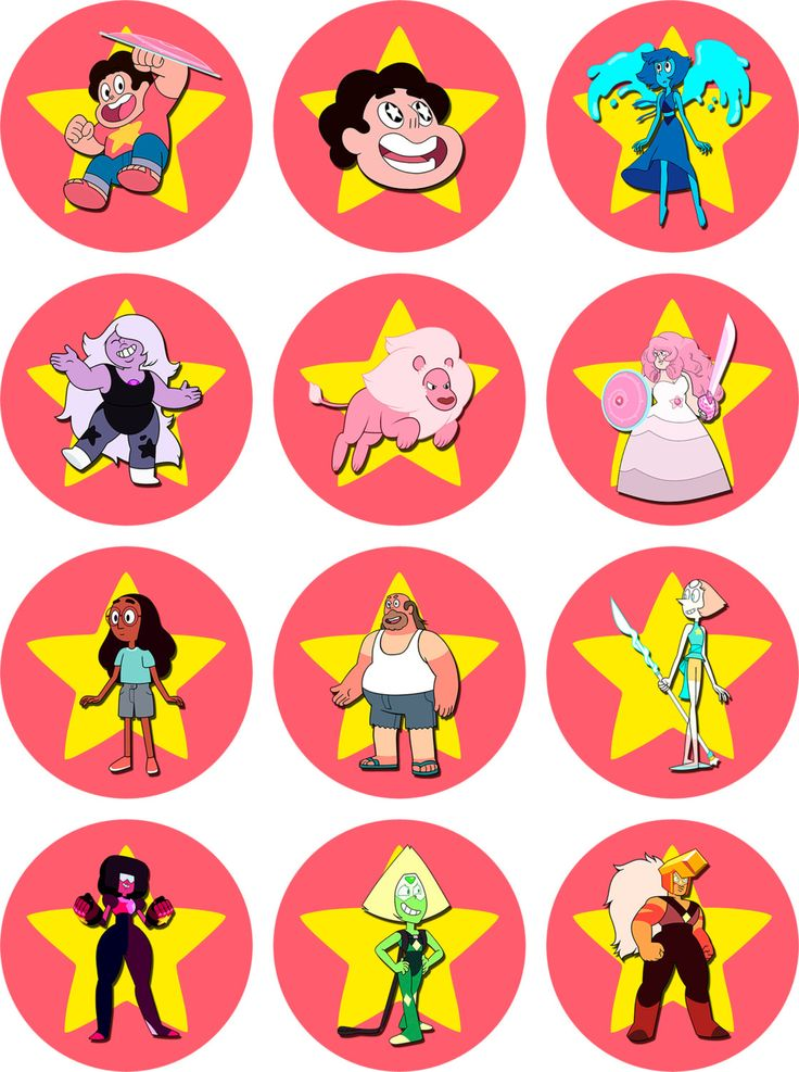 STEVEN UNIVERSE Party Kit Printable in English. Instant download! Steven Universe Birthday Decoration,  Steven Universe Birthday  Banner