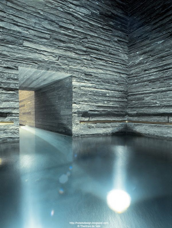 Peter Zumthor's Vals Therme