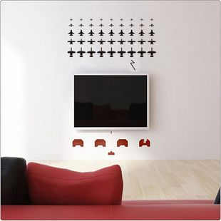 Space Invaders Wall Sticker on Taobao