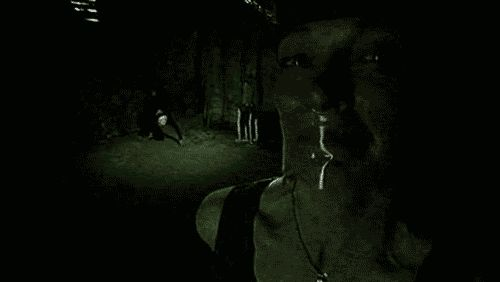 Community Post: 13 Terrifying Halloween Gifs! I Would Freak Out If I saw that creature!