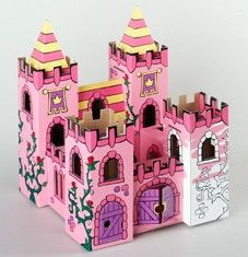 Kids Toys to You | Kids Toys to You Decorate Your Own Rosegarden Palace - CREATE Kids Toys to You - $27 at www.kidstoystoyou.com.au