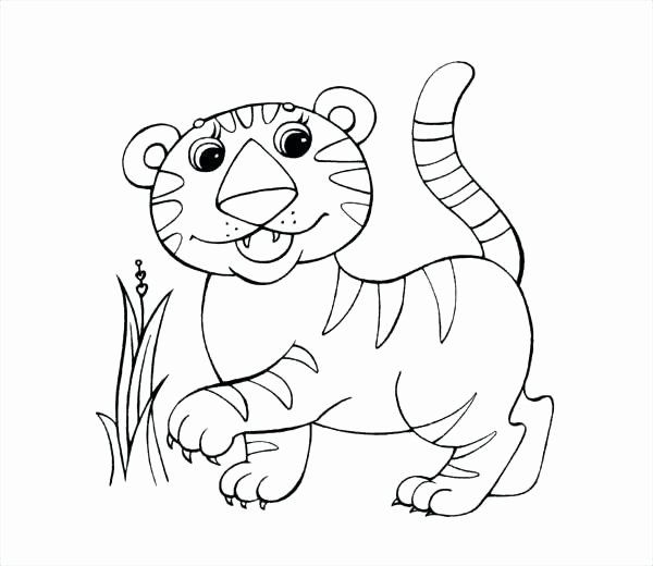 32 Saber Tooth Tiger Coloring Page 2020 12간지