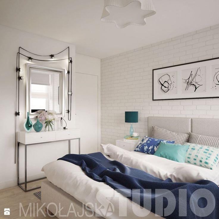 romantyczna sypialnia - zdjęcie od MIKOŁAJSKAstudio - Sypialnia - Styl Nowoczesny - MIKOŁAJSKAstudio