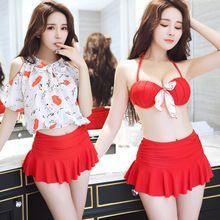 Plus Size Mulheres Swimwear Retro Maiô Fatos de Banho Beach Wear Swim Wear Swimsuit 2017 Nova Bikini Girl Menina Maillot De(China (Mainland))